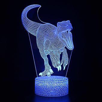 Lampen 3D LED Nachtlicht 16 Farben Desktop Dekoration USB Touch Remote Nachtlampe bester Geburtstag