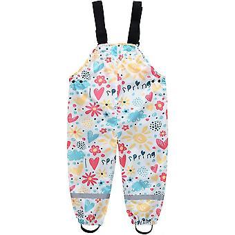 Waterproof,breathable &adjustable Shoulder Strap Children's Raincoat