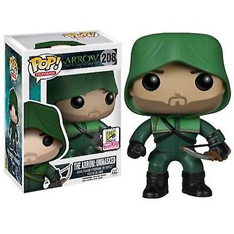 Video game consoles pop! Television #208 arrow the arrow unmasked sdcc 2015 exclusive