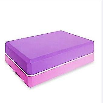 Yoga block skum tegelsten för stretching hjälp, gym, pilates, yoga etc.(Dark Khaki)