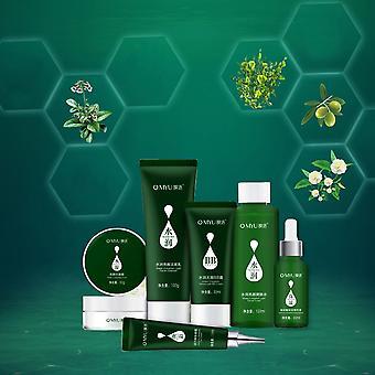 ערכת טיפוח העור מעניקה לחות לעור אנטי אייג'ינג לחות 6pcs/set