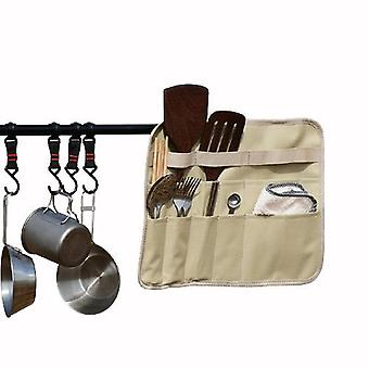 Outdoor Tripod Storage Bag Large-capacity Tableware Finishing Bag Picnic Storage Bag