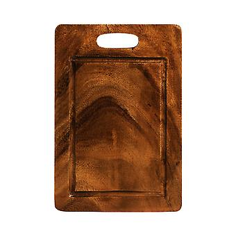 Wooden Chopping Board for Preparing food Slicing  for Kitchen Acacia Wood