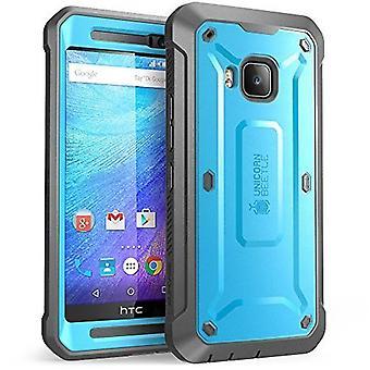 SUPCASE HTC yksi M9 kirjaimien - yksisarvinen Beetle Pro - sininen/musta