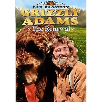 Life & Times of Grizzly Adams: The Renewal [DVD] USA import
