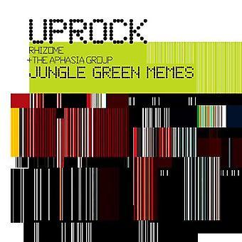 Uprock Rhizome & the Aphasia Group - Jungle Green Memes [CD] USA import