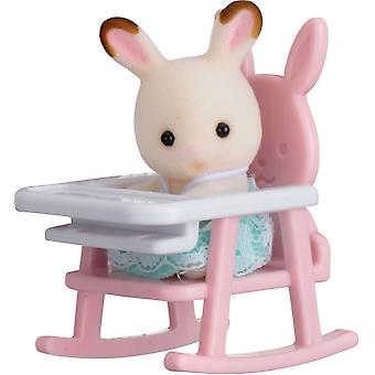 Sylvanian Families Rabbit on Baby Chair Baby Carry Case