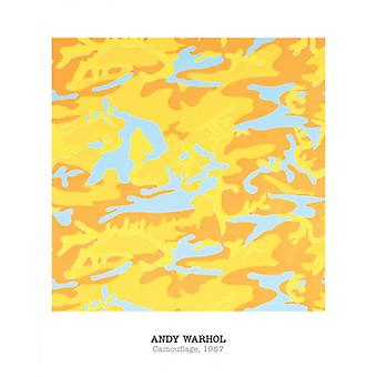 Camouflage 1987 Poster Print by Andy Warhol (16 x 20)