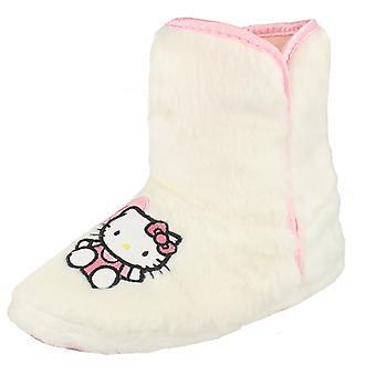 Jeunes filles Hello Kitty chausson moelleux Slipper