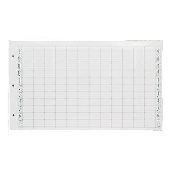 Agenda Salon Concepts Loose Leaf Refill 12 Coloumn 3 Drilled holes (Pack of 100)