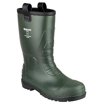 Footsure 97 PVC Rigger Safety Wellingtons / Mens Boots
