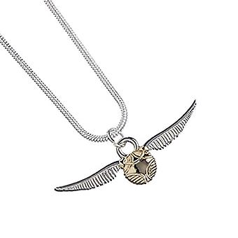 Harry Potter-Halskette Golden Snitch Quidditch neue offizielle versilbert