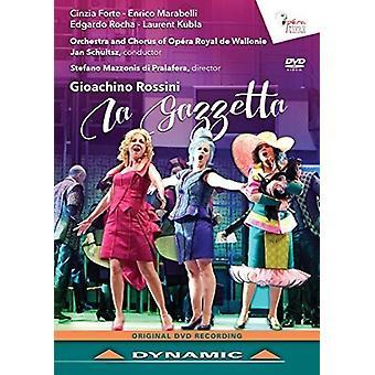Rossini: La Gazzetta [DVD] USA import