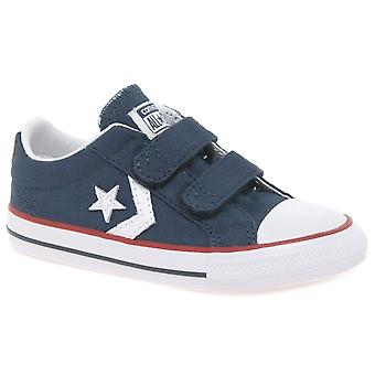 Converse Star Player 2V Boys Infant Canvas Shoes