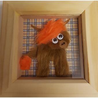 Wee Bee Handmade Mini Wee Coo Frame Orange