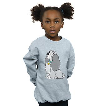 Disney Girls Lady And The Tramp Classic Lady Sweatshirt