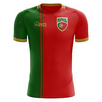 2018-2019 Portugalia flagi Strona główna koncepcja koszuli piłki nożnej (dla dzieci)