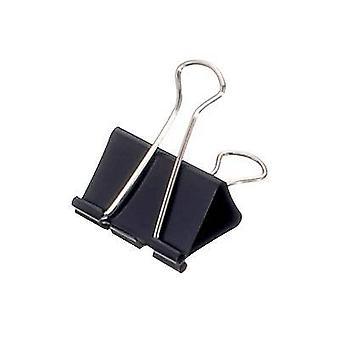 Maul Letter clip 2154190 19 mm Black 6 pc(s)