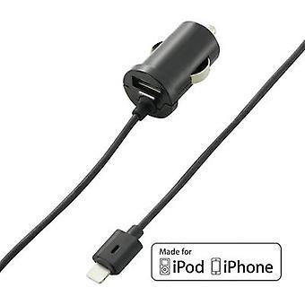 VOLTCRAFT CLC-2000USB CLC-2000USB iPad/iPhone/iPod oplader auto Max. uitvoer huidige 2000 mA 2 x USB, Apple Dock bliksem plug