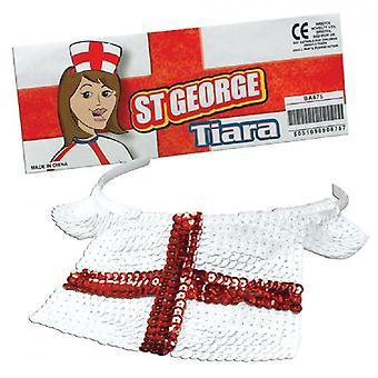 Union Jack porter Angleterre St George Tiara