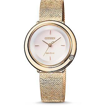 Citizen kvinnors Watch EM0643-84X
