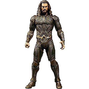 Justice League one: 12 Aquaman action figure detailed action figure made of 100% plastic. Manufacturer: MEZCO.