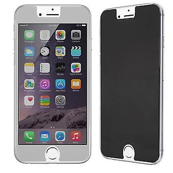 Apple iPhone 6 / 6s näyttää suojaavan säiliö lasi Anti-Spy suojakalvo 9 H - 1 kpl