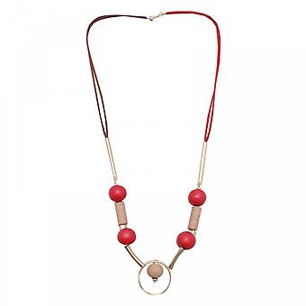 Marie Mero Red Nomad Long Necklace
