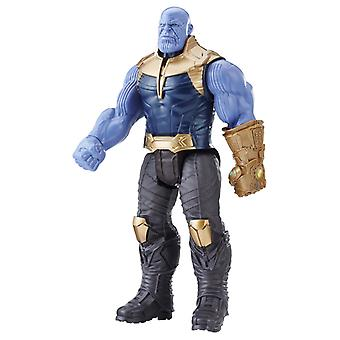 Avengers Infinity War Titan Hero Series Thanos figur Power FX port