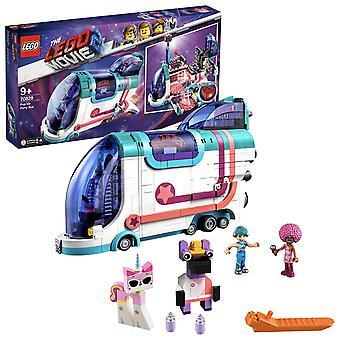 LEGO 70828 de LEGO film pop up stage DJ Party Fun bus