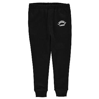 Lonsdale garçons en molleton garçon pantalon Jogging survêtement Bottoms pantalon Kids