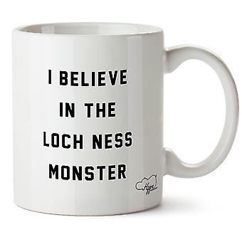Hippowarehouse uskon Loch Nessin hirviö painettu muki Cup keraaminen 10oz
