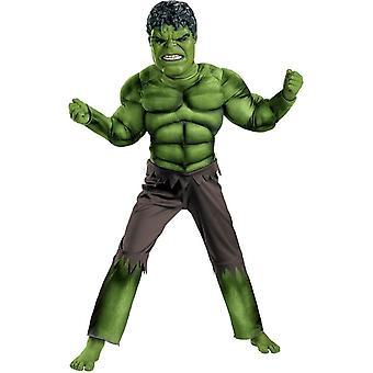 Avengers Hulk Muscle Child Costume