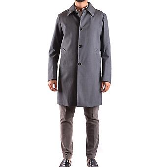 Allegri Ezbc097003 Hombres's Grey Polyester Trench Coat