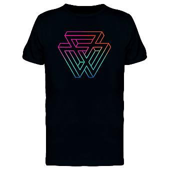 Impossible Triangles Gradient Tee Men's -Image by Shutterstock