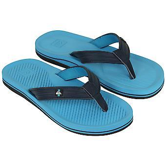 Quiksilver Mens Haleiwa luxe Sandals - bleu/noir
