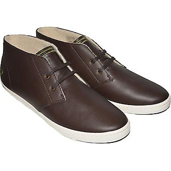 Fred Perry Men's Byron Mid Leather Shoes B7434-325