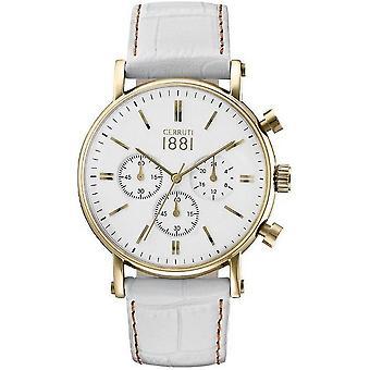 Cerruti 1881 Tremezzo Herrenuhr chronograph CRA110SG01WH