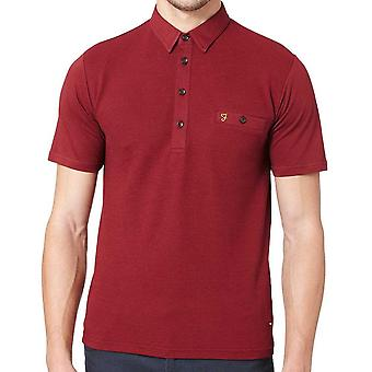 Farah Lester Short Sleeve Polo Shirt