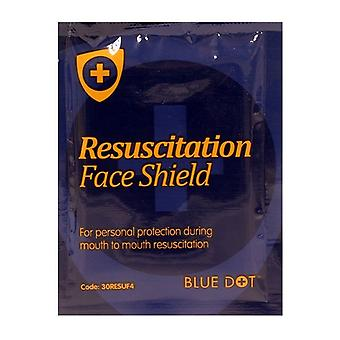 Blue Dot Resuscitation Face Shield