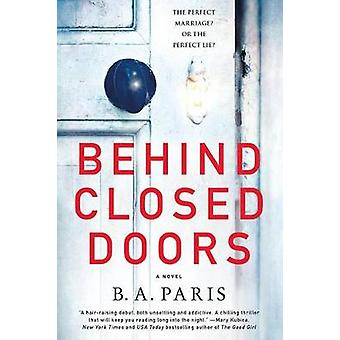 Behind Closed Doors by B A Paris - 9781250132369 Book