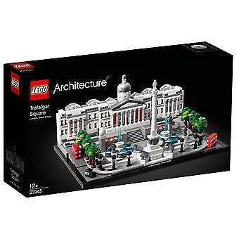 LEGO 21045 arkitektur Trafalgar Square med National Gallery