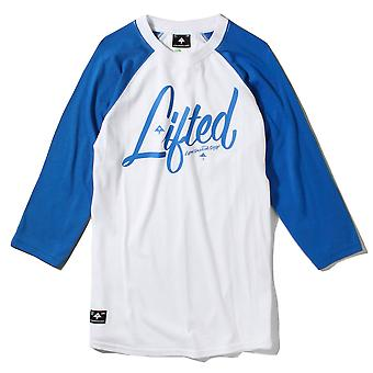 Lrg RC Three Quarter Sleeve Raglan Baseball T-Shirt White