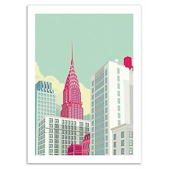 Art-Poster - Park Avenue NYC - Remko Heemskerk 50 x 70 cm