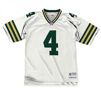 Mitchell - Ness Nfl Green Bay Packers Brett Favre 1996 White Legacy Jersey