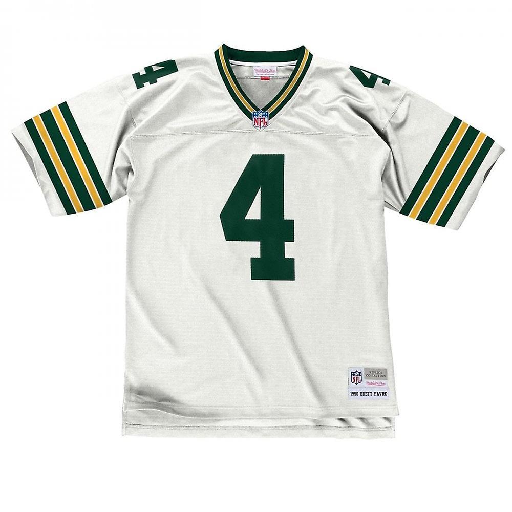 Mitchell & Ness Nfl Green Bay Packers Brett Favre 1996 White Legacy Jersey
