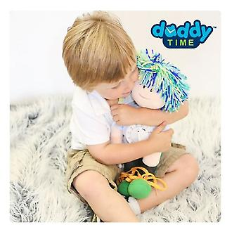 Woombie Teach Time Doll Boy Blue