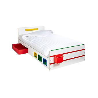 Chambre 2 Construire un lit simple avec stockage