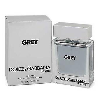The One Grey By Dolce & Gabbana Eau De Toilette Intense Spray 1.7 Oz (men) V728-543725