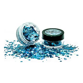 PaintGlow Holographic Chunky Glitter Shaker Bleu cosmique